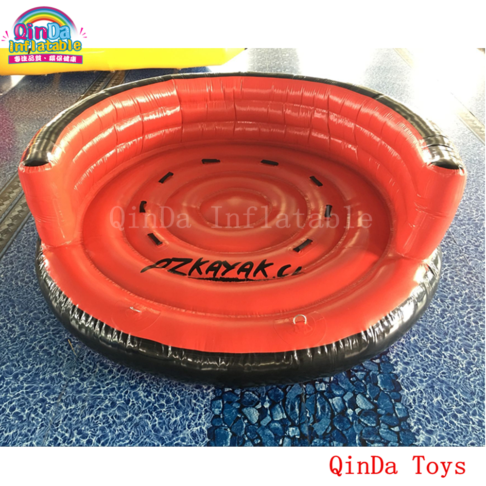 3m diameter inflatable towable water ski crazy UFO,free air pump inflatable flying boat for sale water ski tube flying sofa inflatable water ski tube crazy ufo inflatable crazy water game crazy ufo