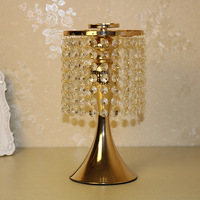 Acrylic Crystal Wedding Flower Stand Table Centerpiece Gold Wedding Centerpiece Crystal Flower Stand Table Chandelier