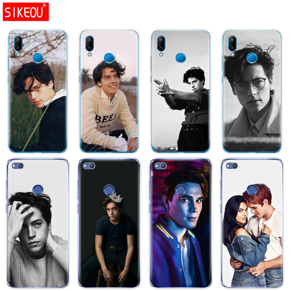 Silicone Cover Phone Case For Huawei P20 P7 P8 P9 P10 Lite Plus Pro 2017 P Smart American TV Riverdale Cole Sprouse