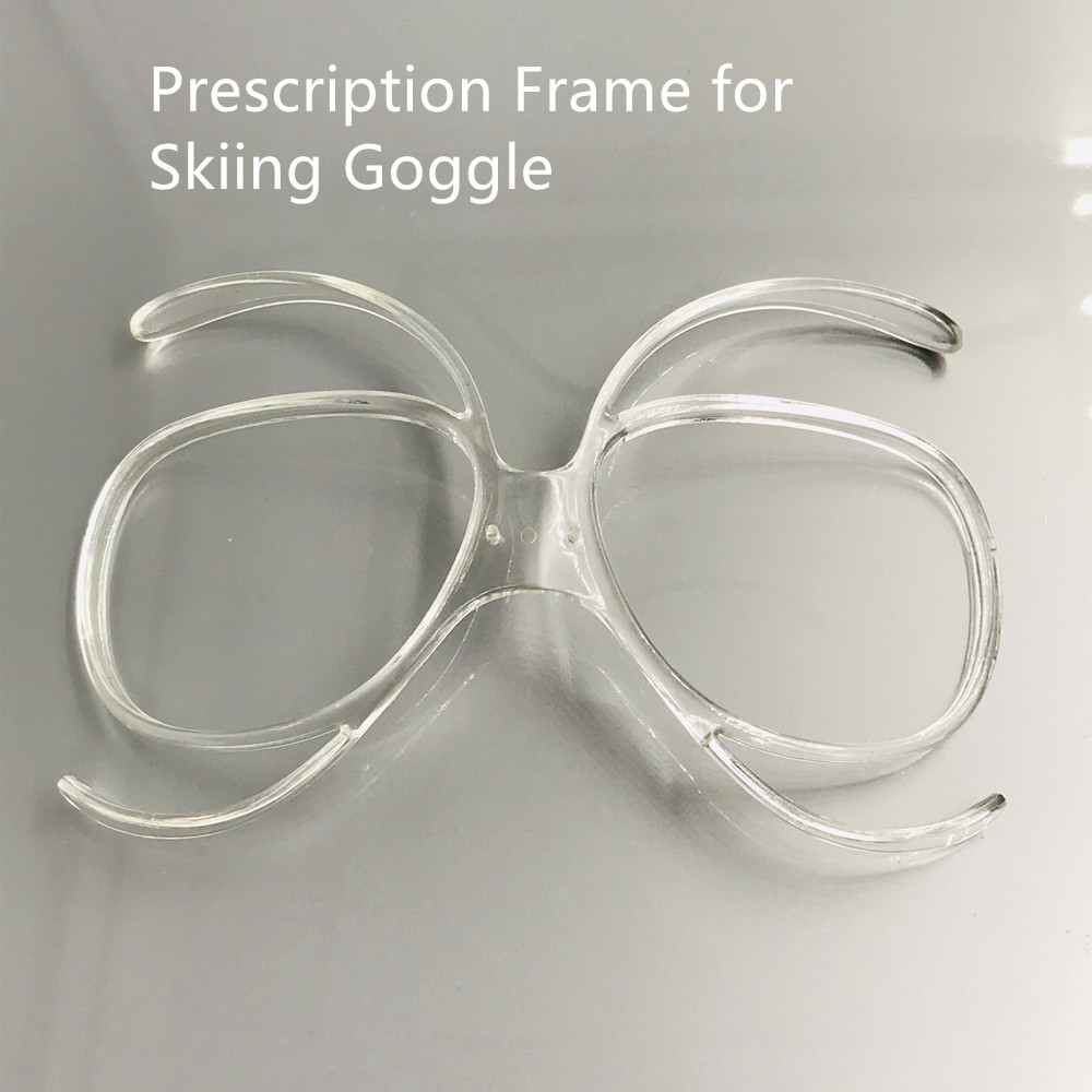 Prescription Frame For Skiing Goggle TR90 Flexible Bendable Ski Goggles Optical Insert Adaptor Universal Size Inner Frame