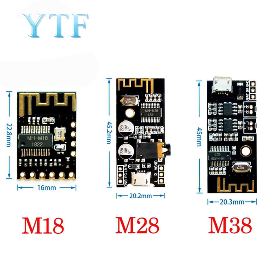 MH-MX8 Wireless Bluetooth Audio Module 4.2 Stereo Lossless High Fidelity HIFI DIY Modification