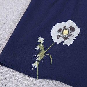 Image 5 - Naviu nouvelle mode fleur impression Blouse femmes 2019 printemps à manches longues bureau blouse grande taille hauts vêtements formels