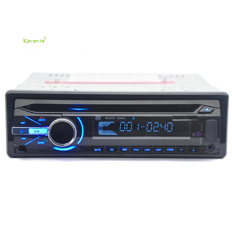 2017car-styling Mp3 Car Audio Stereo Bluetooth DVD Player Remote Controller FM USB MP3 Radio Hot sale may04 x5 bluetooth car kit mp3 player fm transmitter radio adapter