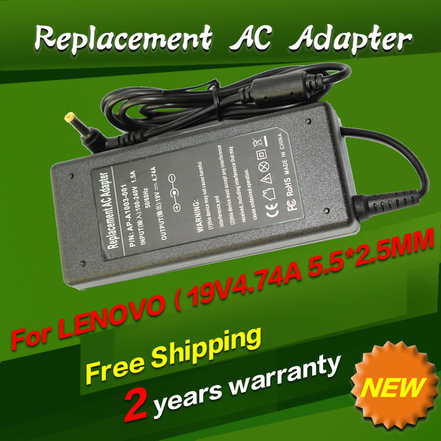 19V 4.74A 5.5*2.5MM 90W Replacement For Lenovo/Toshiba For ASUS ADP-90SB U3 S5 W3 W7 k50ab k61ic x53t Laptop AC Power Adapter