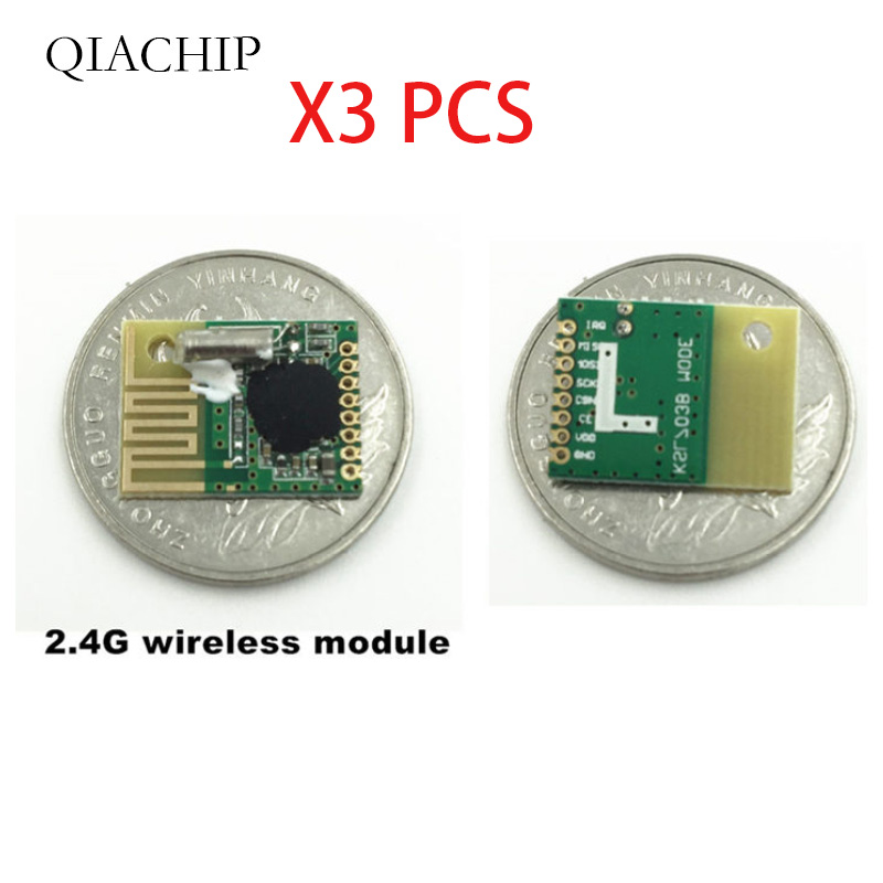 Image 2 - 3pcs 2.4G wireless data transmission Communication module and low cost Using chip KSL297 similar NRF24L01 For remote controls-in Remote Controls from Consumer Electronics