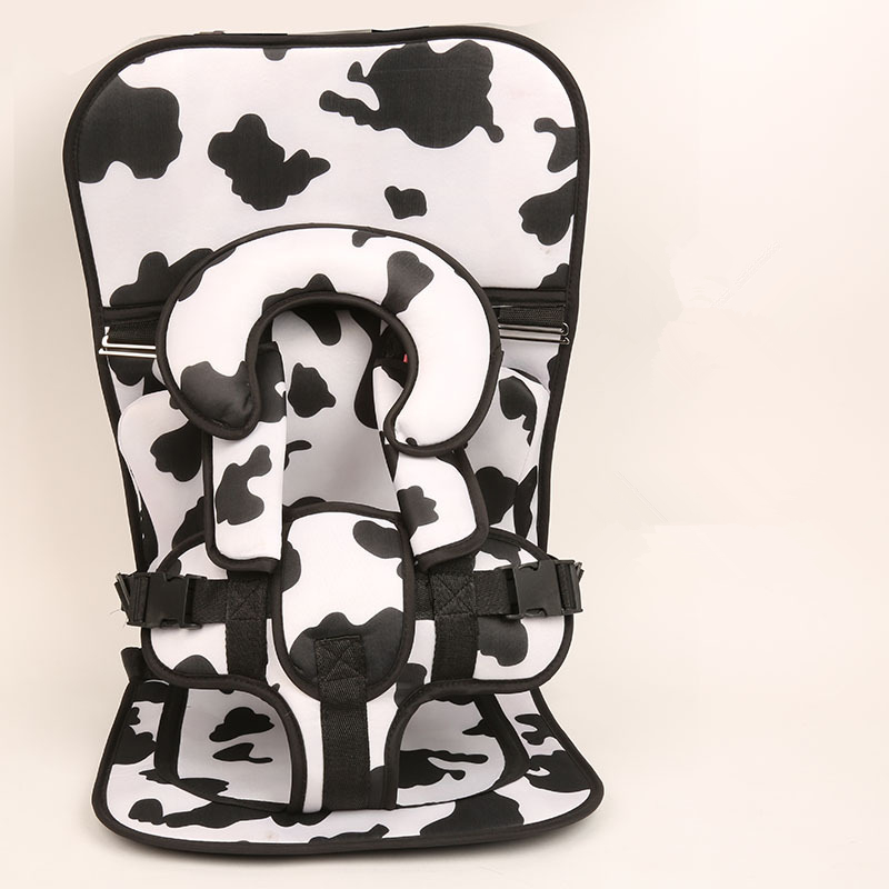 1 Piece Milk Cow Baby Portable Car Seat Cushion Child Safety Kid Simple Dining Chair Small Big Size Increase Pad Optional In Automobiles Covers