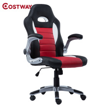 COSTWAY Ergonomic Office Computer Chair Armchair Executive Chair High Back Lift Chair Swivel Chair Office Furniture CB10070