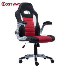 COSTWAY Ergonomic Office Computer Chair Armchair Executive Chair High Back Lift Chair Swivel Chair Office Furniture CB10070
