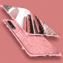 Чехол для телефона для huawei P30 Pro P20 Lite Коврики 30 10 20 Lite Honor 7X 8X 9X Nova 3 3i 3E 4E 5 Pro 5i блестящая Переливающаяся силиконовый чехол