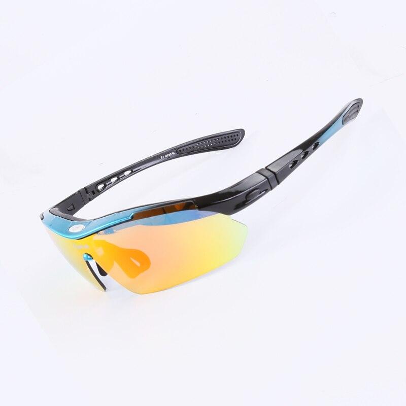 Jiepolly Polarized Radsportbrillen Sportbekleidung Brillen Mit - Radfahren - Foto 4
