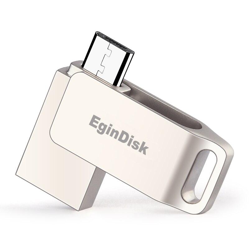 Metal Micro Usb Pen Drive 64gb 32gb 16gb 8gb Mini Usb Flash Drive Otg Usb Storage Devices Gift smartphone Usb Stick Custom logo