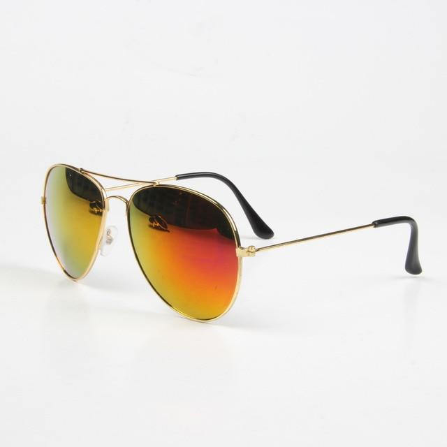Vintage UV400 quadro do ouro óculos / óculos óculos de sol mulheres / homens novos 2014