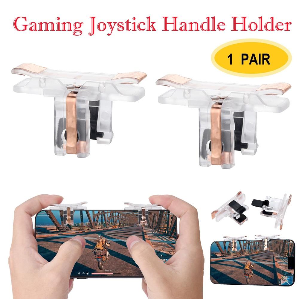 1 Pair Practical Useful Mobile Game Controller Sensitive Sho
