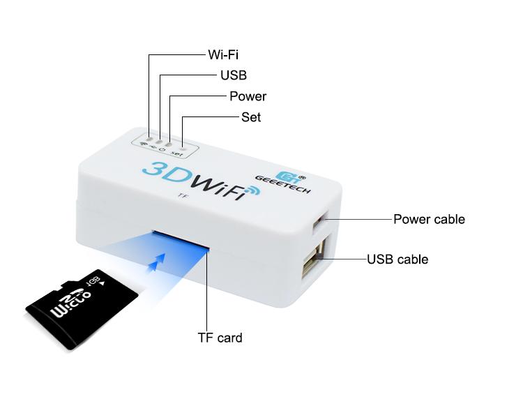 Geeetech 3D WiFi Module Box For 3D Printers 12