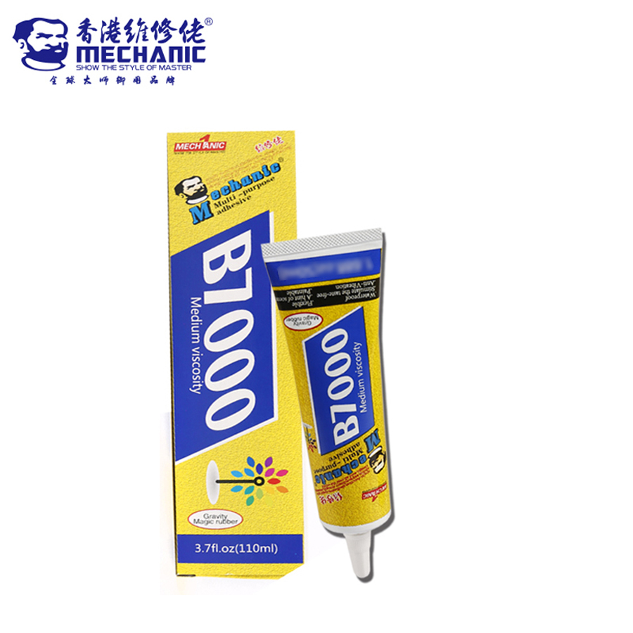 MECHANIC B7000 <font><b>110ml</b></font> Multipurpose Adhesive Jewelry Rhinestone Crafts DIY Phone Screen Glass Epoxy Resin Super Liquid Glue B-7000 image