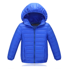 2017 newest style children's down jacket 90% duck down jackets and parks for boys girls outerwear winter coat children clothing