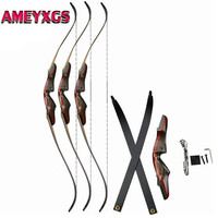 62inch 20 50lbs Archery Recurve Bow Draw weight Right Hand Takedown Bow For Outdoor Camping Game Hunting Shooting Accessories