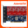 TDM400P voip analog card Asterisk card with 4 FXS/FXO port,FXO card