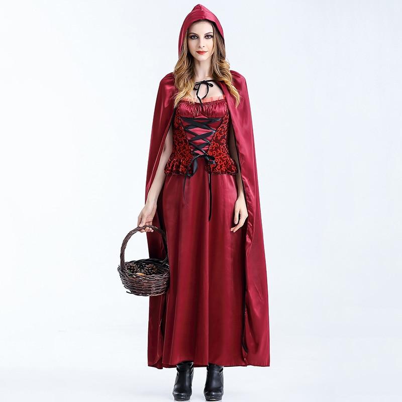 Deguisemen Halloween Carnival Games Cosplay Outfits Fancy Dress