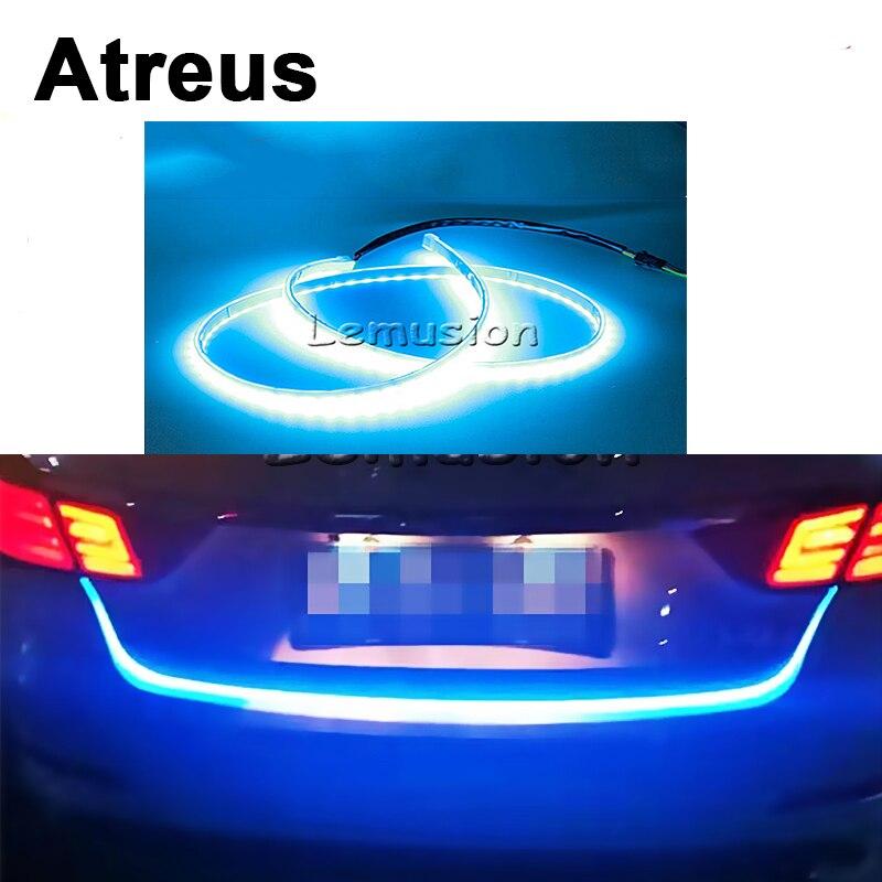 Atreus 1Set Car LED Rear Trunk Tail Lights Brake Turn Signal Warning Lights Strips For VW BMW Ford Opel Renault Toyota Peugeot