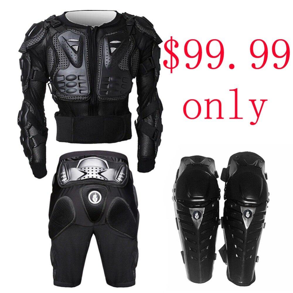 Pantalon de Motocross + armure vtt Protection corporelle engrenages armure Pantalon de Motocross hors route moto cyclisme descente protéger armures
