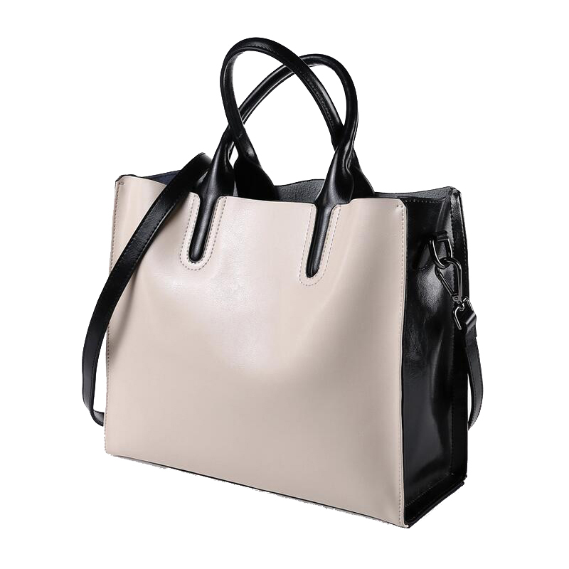 Big Bag new women shoulder bags Fashion Brand Oil Wax Leather totes bag Female genuine leather crossbody bags Casual handbag 2017 new casual snake pattern genuine leather women handbag serpentine fashion shoulder bag luxury brand designer female totes