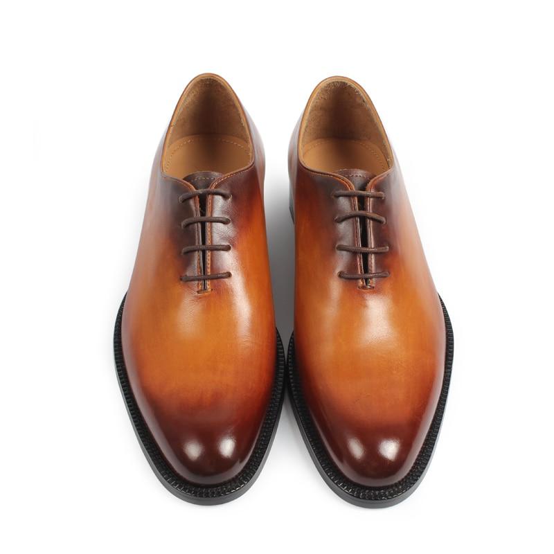 Vikeduo 2019 새로운 브랜드 남성 옥스포드 신발 정품 가죽 남성 신발 수제 신발 웨딩 사무실 공식 patina zapatos hombre-에서옥스퍼드화부터 신발 의  그룹 3