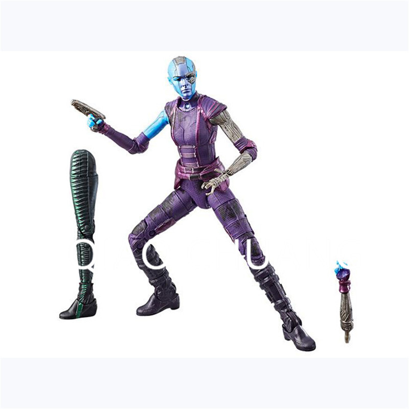 The Avengers 3: Part 1 Gamora Nebula Guardians Of The Galaxy Movable Joints PVC Action Figure Bambola G1190