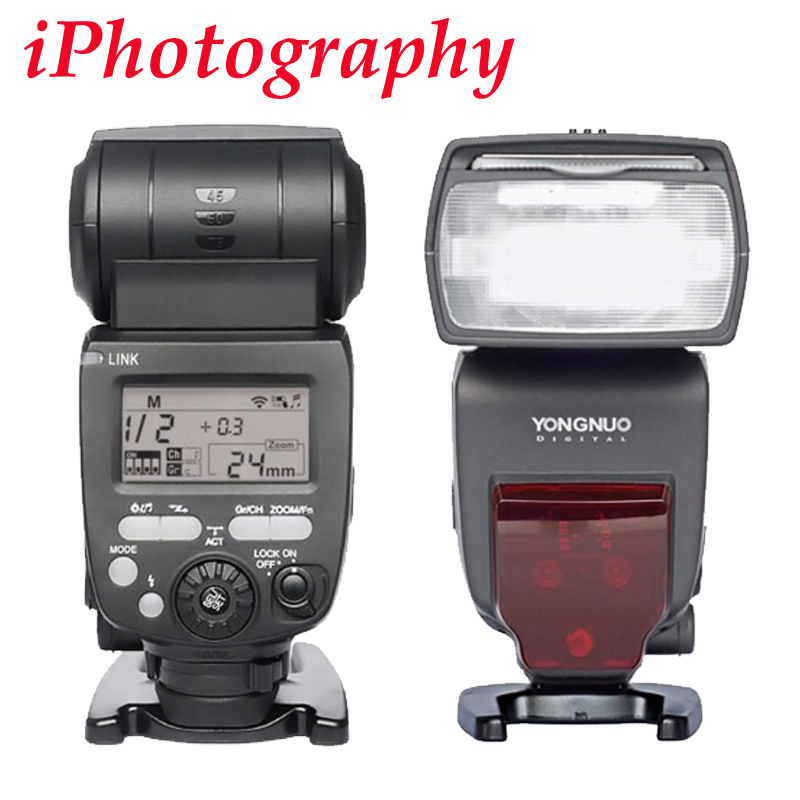 YONGNUO YN660 660 2.4GHz Flash Speedlite Wireless Transceiver Integrated for Canon Nikon Pentax Olympus DSLR Camera yn e3 rt ttl radio trigger speedlite transmitter as st e3 rt for canon 600ex rt new arrival