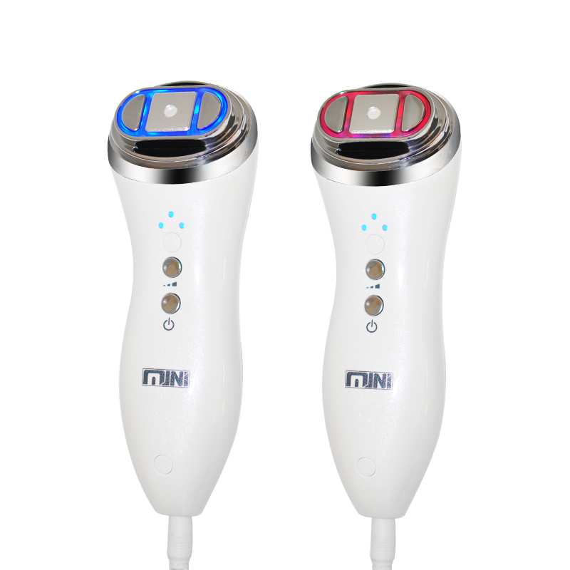 Ultrasonic RF Face Lifting Skin Tightening Facial Care Massager Mini Radio Frequency Bipolar Anti Wrinkle Device Salon Machine mini bipolar rf heating therapy skin tightening face lifting double chin wrinkle remover skin firming beauty care machine