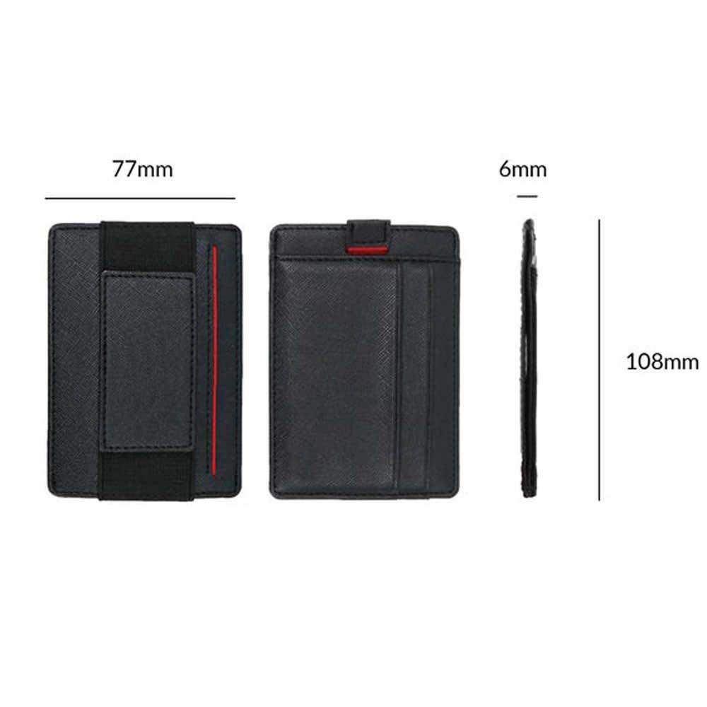 3a9dde10d76 ... Functional Slim Wallet RFID Credit Card Holder Front Pocket Wallet  Minimalist Secure Thin Credit Card Case ...