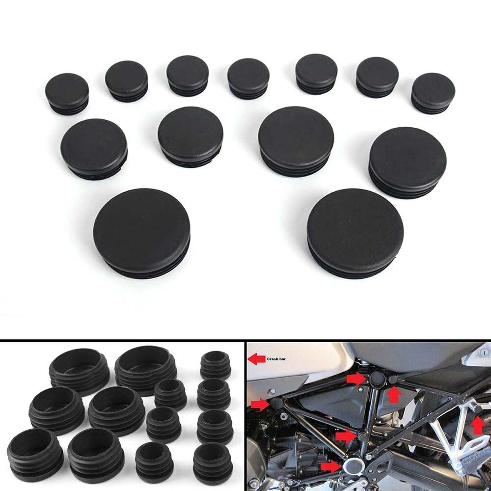 13 PCS Frame Hole Prevent Dust Cover Caps Set For BMW R1200GS R1200 GS LC Adventure 2013 2014 2015 2016 R 1200 GS