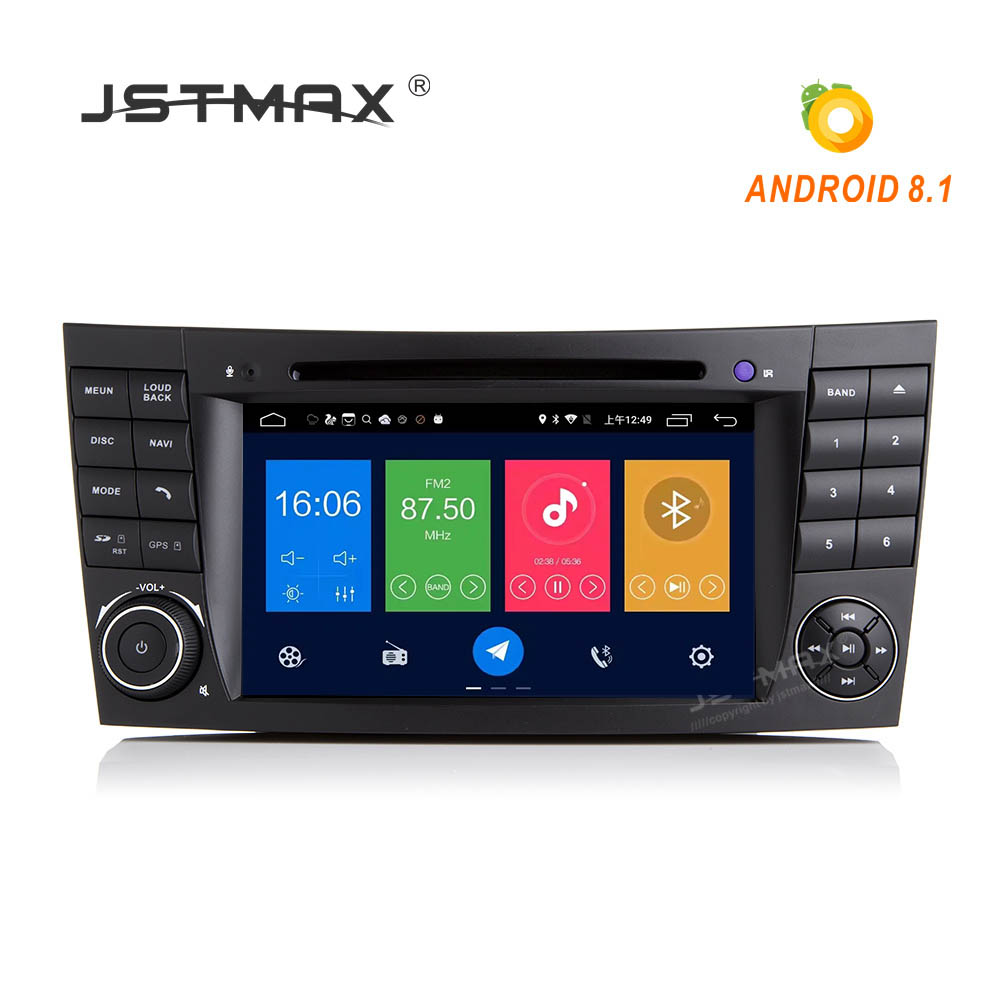 jstmax android 8 1 radio ips screen car dvd player for. Black Bedroom Furniture Sets. Home Design Ideas