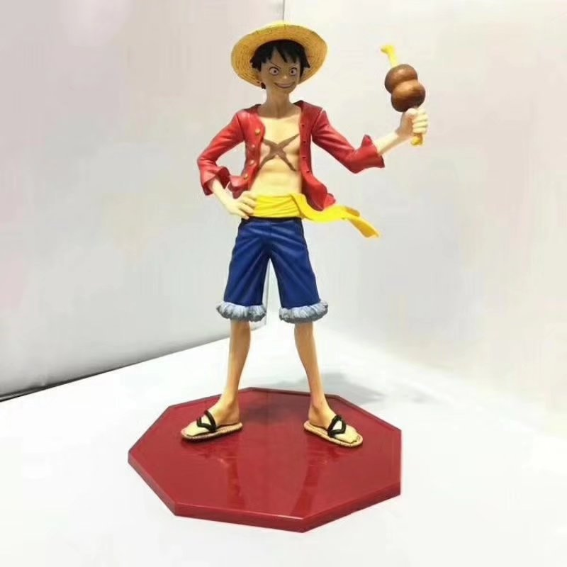 Anime One Piece Portrait Of Pirates Monkey D Luffy PVC Action Figure Collectible Model Toys Doll 22cmAnime One Piece Portrait Of Pirates Monkey D Luffy PVC Action Figure Collectible Model Toys Doll 22cm
