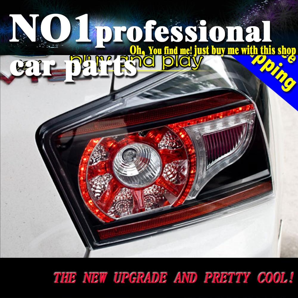 Car Styling 2009-2013 For Honda City taillights  LED Tail Lights  Rear Lamp LED DRL+Brake+Park+Signal Stop Lamp телевизор supra stv lc40lt0011f серебристый
