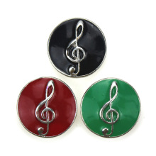 Music Note Snap Button 10/pcs18mm