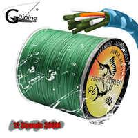 12 stränge Geflochtene Angelschnur 300 M PE Draht 35LB-180LB Multifilament Angelschnur 8 Farben zu Wählen