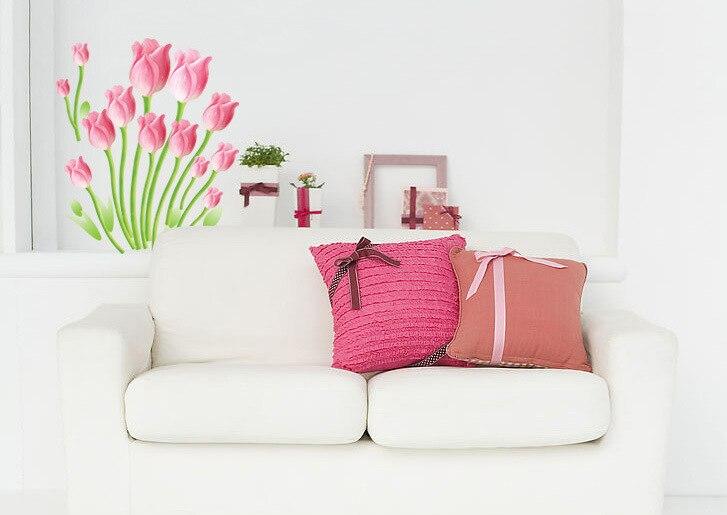 Adesivi murali fiori promozione fai spesa di articoli in ...