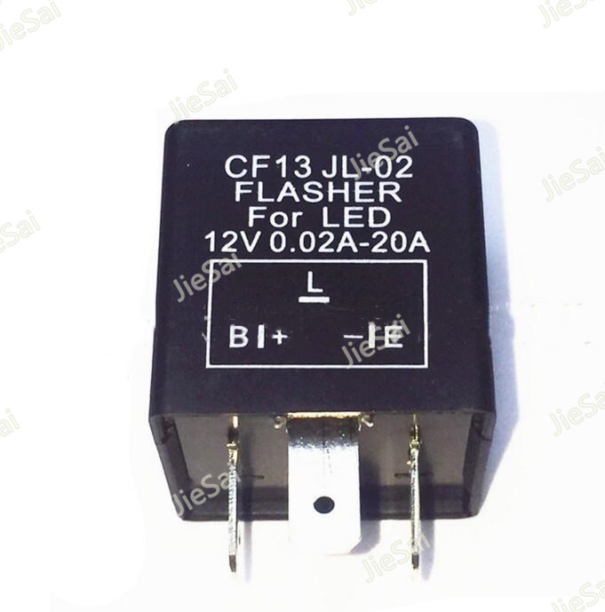 1set CF13 3pin DC 12v 0.02A-20A auto relay LED Turn Signal Light Motorcycle Error Fast Flasher