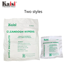 цена на Kaisi 50Pcs 200Pcs/Bag Soft Cleanroom wiper cleaning Non Dust Cloth Dust Free Paper Clean LCD Repair Tool