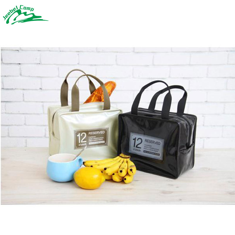 Jeebel Portable Insulated Picnic Bag Organizer School Lunch Basket Thermal Women Men Child Canteen Storage Cosmetics