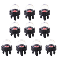 LETAOSK 200Pcs Petrol Snap In Primer Bulb Replacement fit for Carburetor of Chainsaws Blower Trimmer Lawnmower