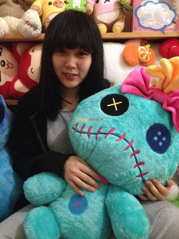 Fancytrader Copyrighted New 26\'\' 65cm Super Giant Stuffed Soft Plush Giant Cute Stitch, Free Shipping FT50794 (10)