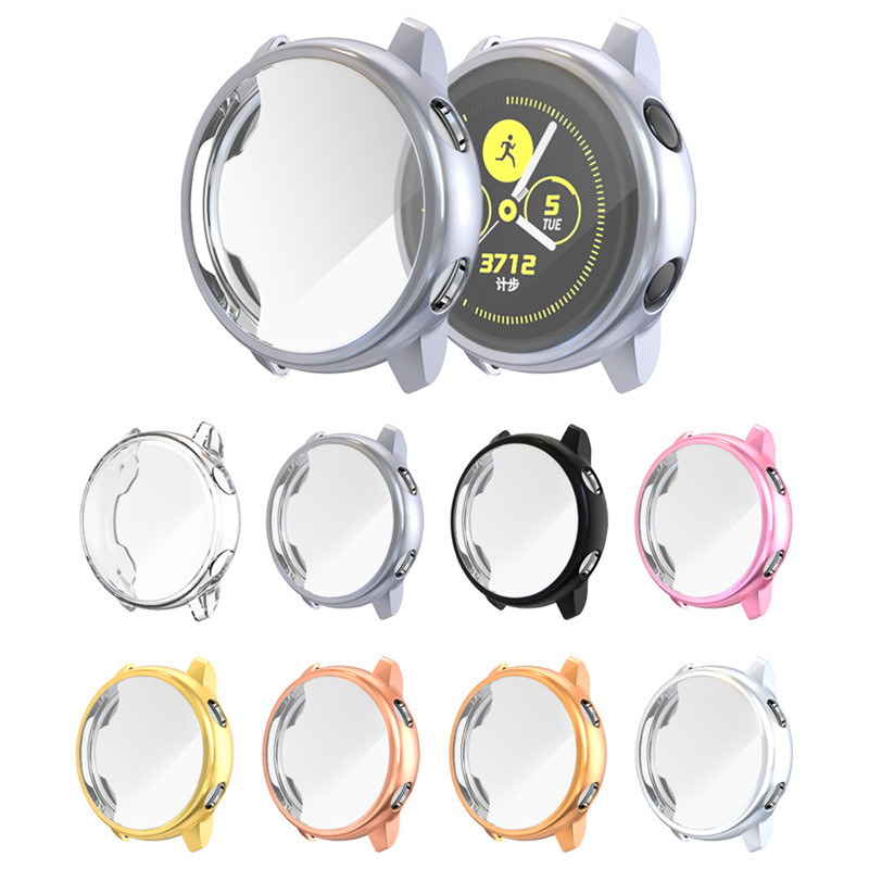 Soft TPU Anti-Scratch Screen Cases Cover For Samsung Galaxy Watch Active Protection Sleeve Case For Samsung Gear Watch 40mm Case