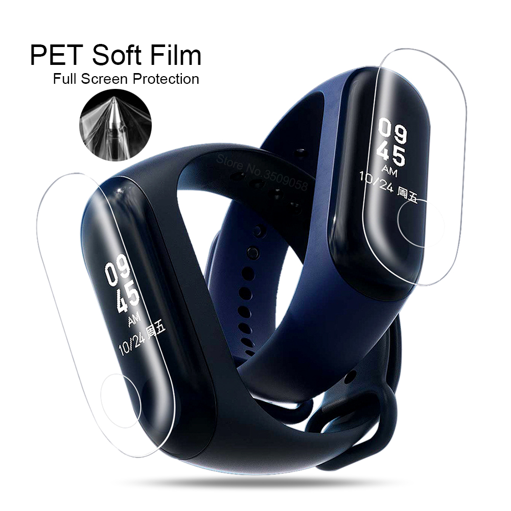 Screen-Protector Mi-Band Protective-Tpu Anti-Scratch Xiaomi 9H for HD Ultra-Thin New-Arrival