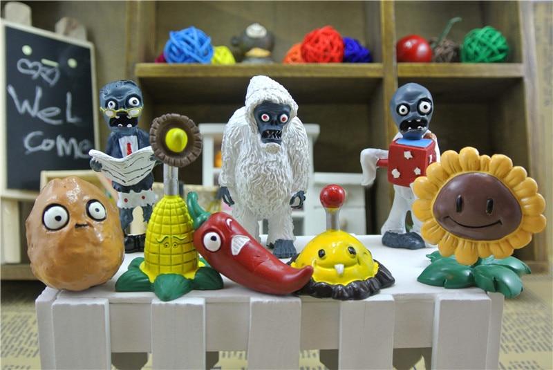 set Plants Vs Zombies PVZ Jouet Toys Popular Game Pvc Bandai Anime Figures Classic Brinquedos Kids Hot for Children