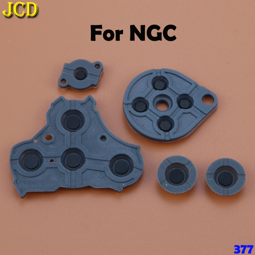 Image 5 - JCD Rubber Conductive Button A B D pad for Game Boy Classic GB GBC GBP GBA SP For 3DS NDSL NDSI NGC Silicone Start Select Keypad-in Replacement Parts & Accessories from Consumer Electronics