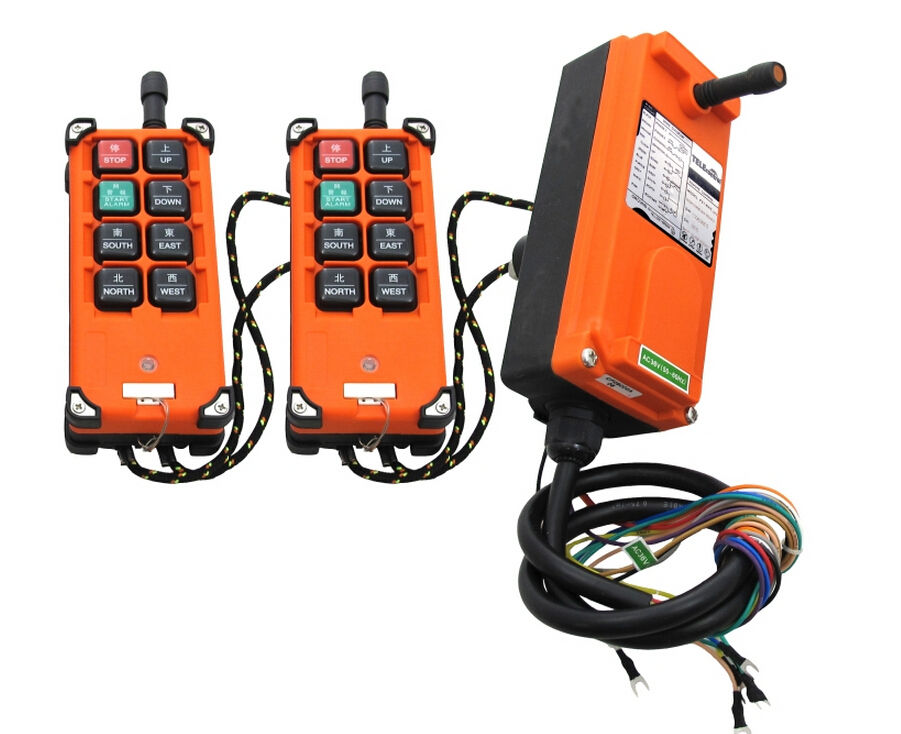 F21-E1B Industrial Hoist Crane Wireless Remote Control Switch AC/DC18V-65V (2 Transmitter +1 Receiver) New запонка arcadio rossi запонки со смолой 2 b 1026 20 e