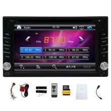 New Version ! 800MHZ CPU !!! GPS Navigation Car Radio 6.2 Inch Car DVD Player Touch Screen Stereo Bluetooth Autoradio In Dash He