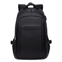 2019 Business Men Backpack USB Charging Men 15.6inch Laptop Backpack Men&Women Fashion Travel Mochila Backpack Teenager